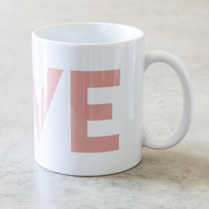 LOVE wedding mugs