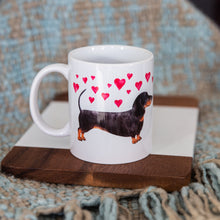 Load image into Gallery viewer, Dachshunds in Love Mug