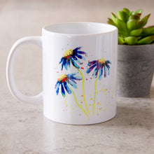 Load image into Gallery viewer, Watercolour Daisy Mug