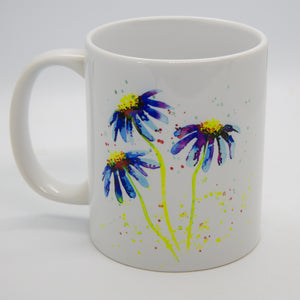 Watercolour Daisy Mug