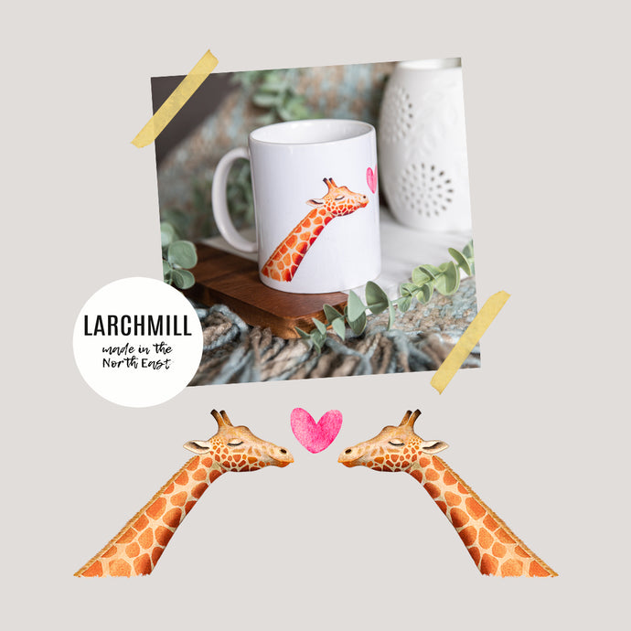 Giraffes in Love Mug