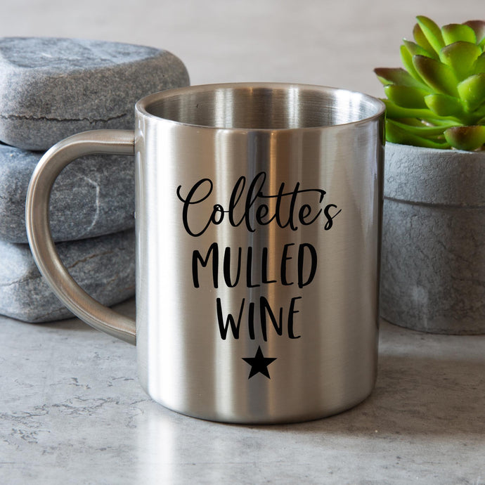 Mulled Wine Steel Mug