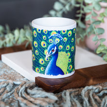 Load image into Gallery viewer, Peacock Mug