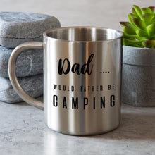 Load image into Gallery viewer, Stainless Steel Camping Mug Personalised