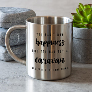Stainless Steel Camping Mug Personalised