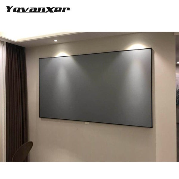 Projector Screen 60/72/100/120/133 Inches-Home Projectors-Eclipse High Tech