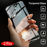 2Pcs Protective Tempered Glass Screen Protector for Xiaomi Redmi Note 5 and Note 5 Pro - Eclipse High Tech