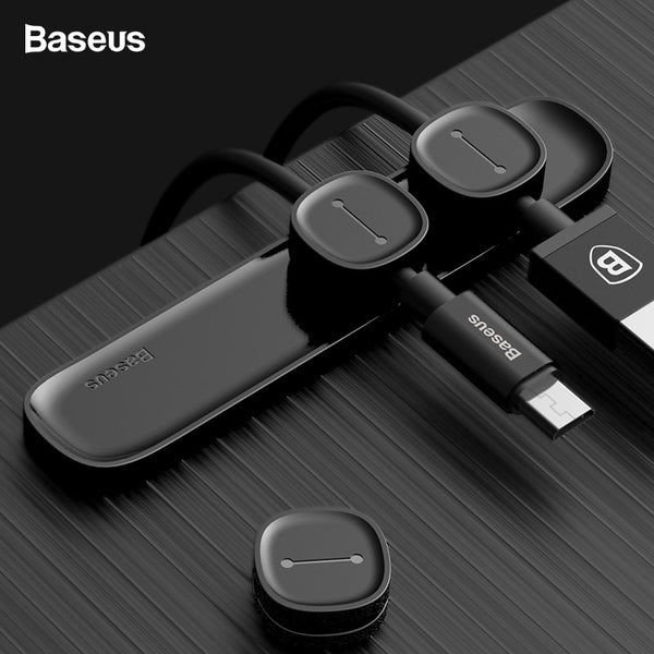 Baseus Peas Magnetic USB Cable Organizer-Computer Accessories-Eclipse High Tech