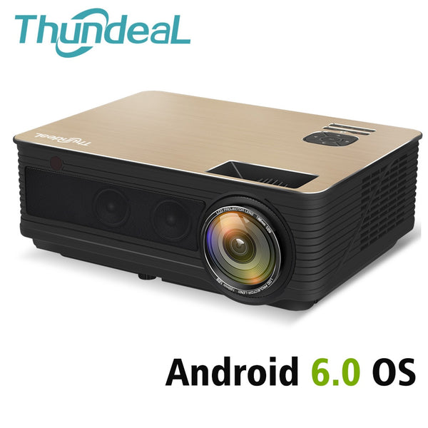 ThundeaL HD Projector TD86 4000 Lumen Bluetooth Projector Full HD 1080P LED-Home Projectors-Eclipse High Tech