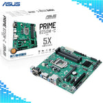 Asus Prime B250M-C Motherboard Intel B250 socket LGA 1151 4*DDR4 DIMM Desktop Motherboard-Computer Accessories-Eclipse High Tech