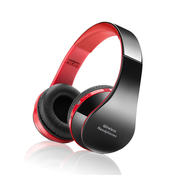 Foldable Over-The-Head Bluetooth Stereo Headphones - Eclipse High Tech