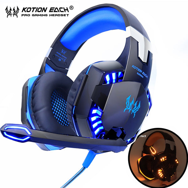 Kotion Each G1000/G2000/G4000/G9000 Gaming Headset with LEDs-Gaming-Eclipse High Tech