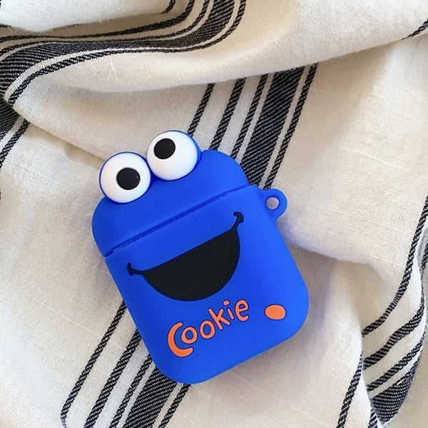 Cute Cartoon Protective Cover For AirPods Charging Case - Eclipse High Tech