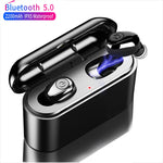 X8 TWS True Wireless Earbuds 5D Stereo Waterproof with 2200mAh Power Bank - Eclipse High Tech