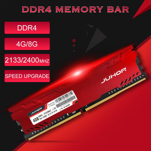 Juhor Desktop Memory Bar Module DDR4 2133/2400MHZ 4G/8G RAM-Computer Accessories-Eclipse High Tech