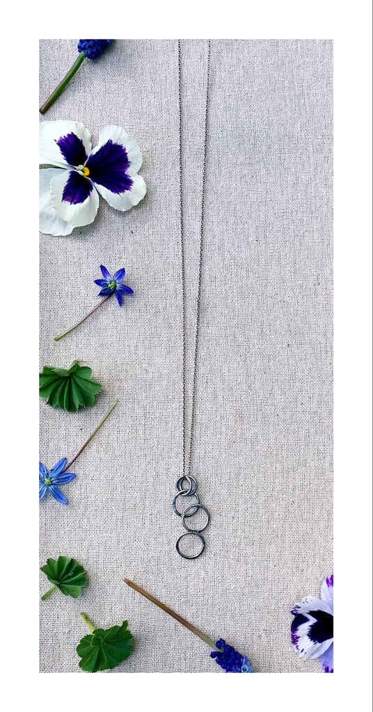 Fused Link Necklace