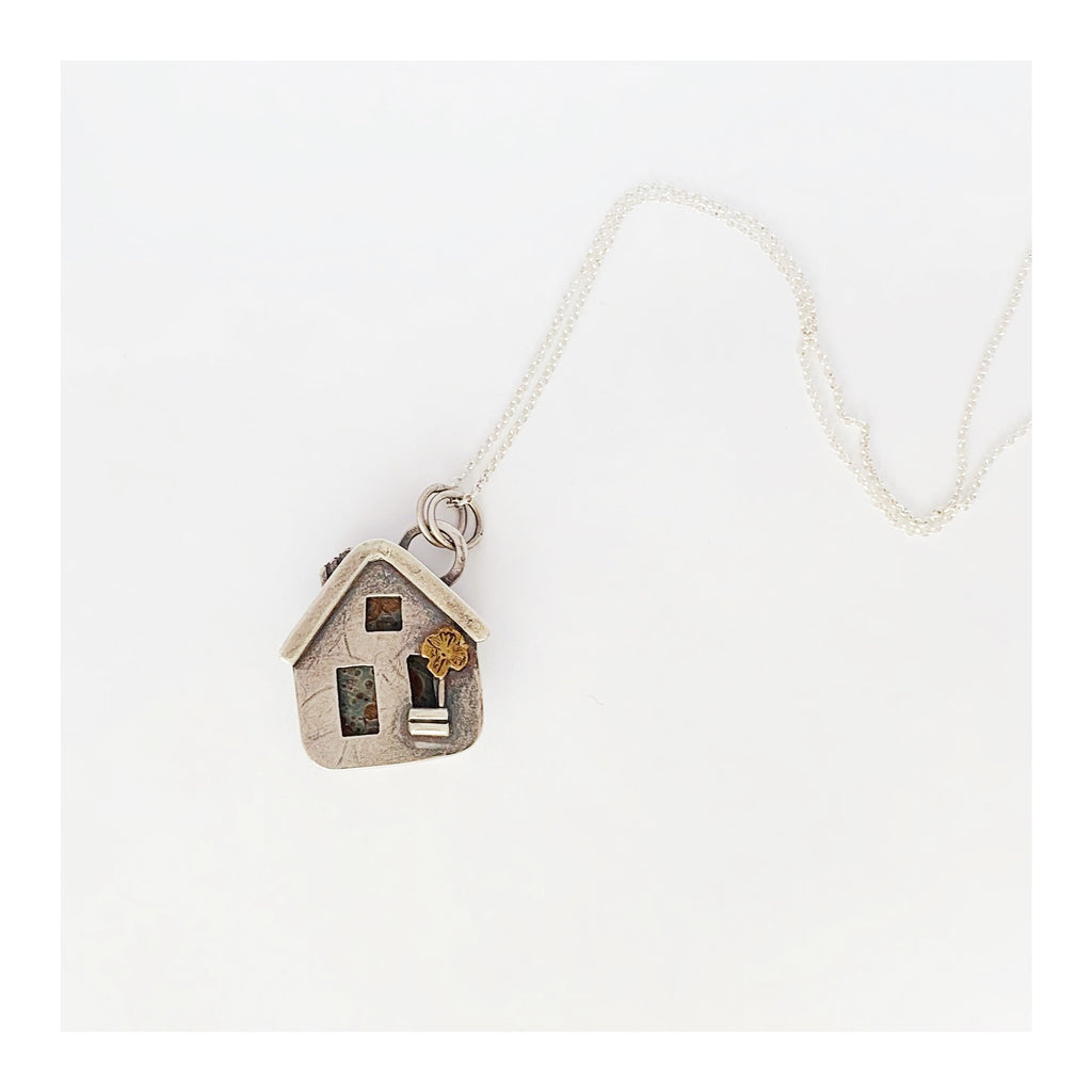 Tiny House Necklace