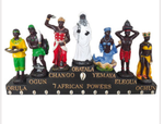 Resin statue with all the Orishas