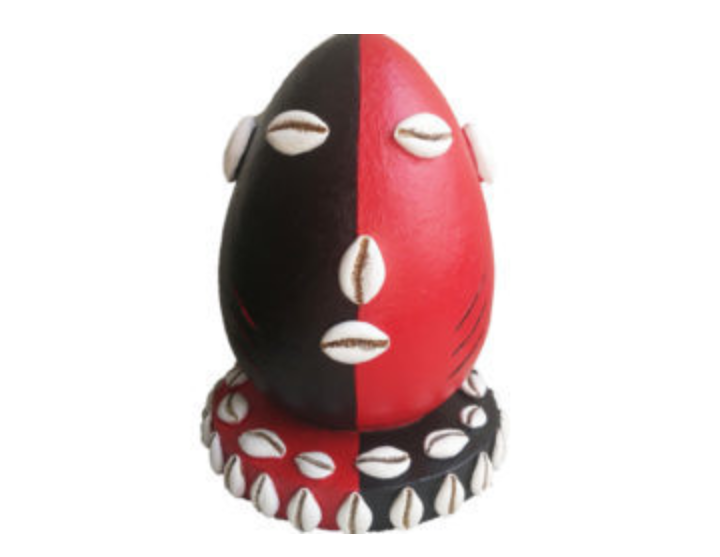 DECORATED ELEGUA HEAD