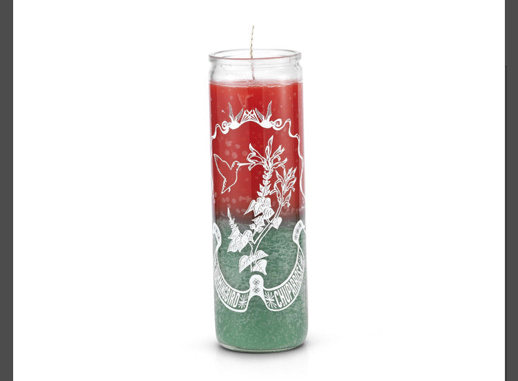 Chuparrosa 7 Day Prayer Candle