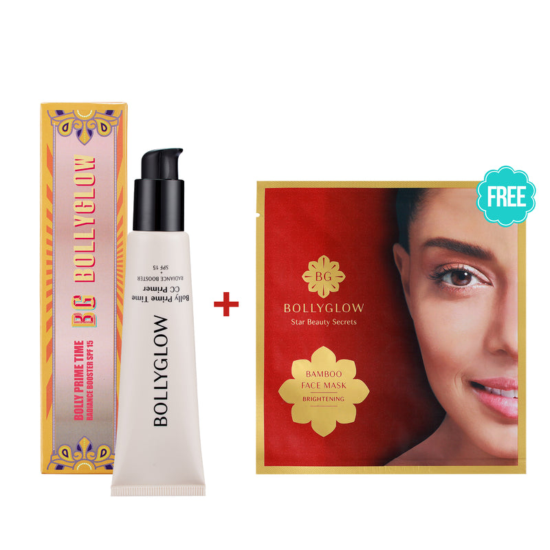 Bolly Prime Time CC Primer With Free Sheetmask