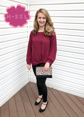Long Sleeve Blouse (M-2XL)