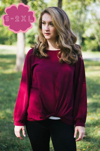 Long Sleeve Blouse (S-2XL)