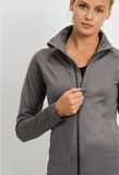 High Neck Active Jacket