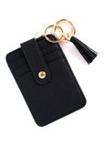 Faux Leather Card Clutch
