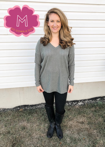 Bar Back Sweater Tunic (M, LAST TWO)