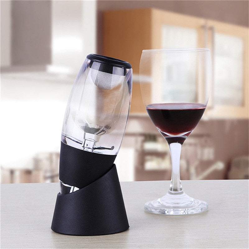 Wine bottle pourer filter for whiskey pourers