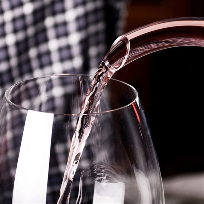 Glass Horn Wine Decanter Wine Pourer