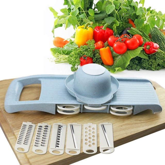 Slicer Vegetable Cutter with Steel