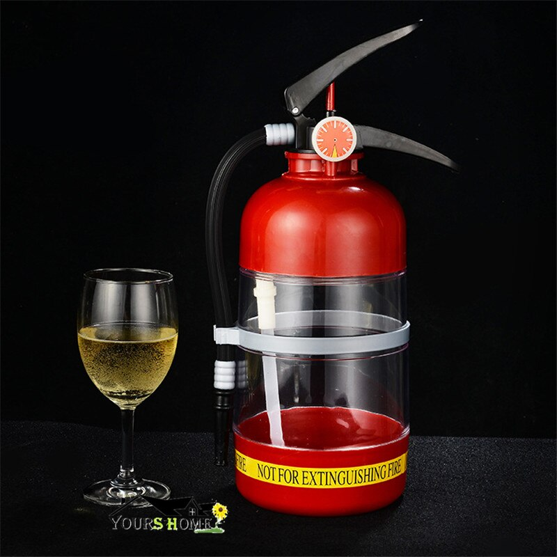 Fire Novelty Drink Dispenser Cocktail Shaker