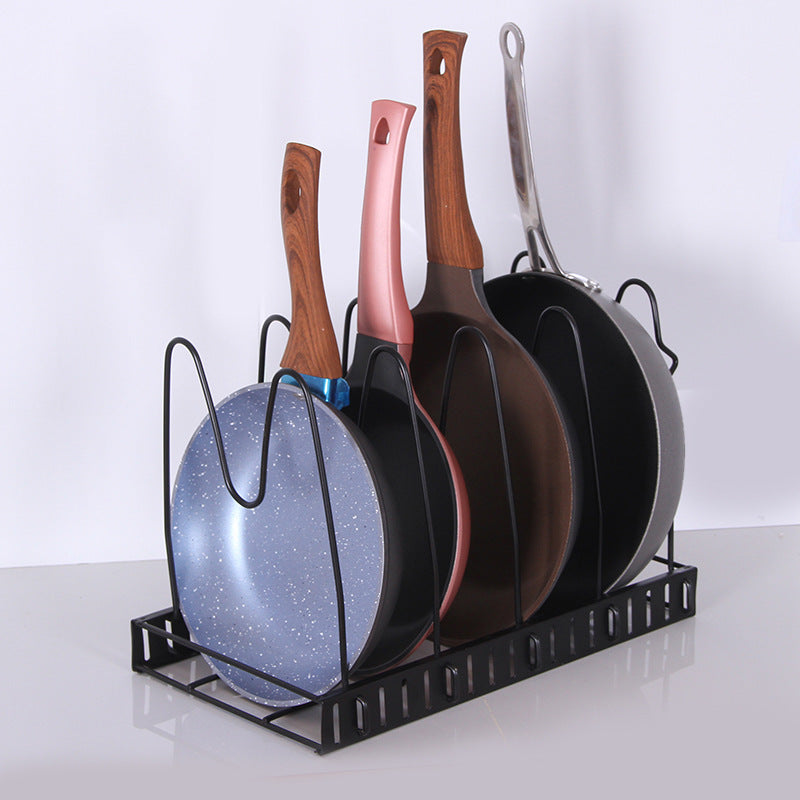 Board Holder Dishes Rack Stand Metal Storage