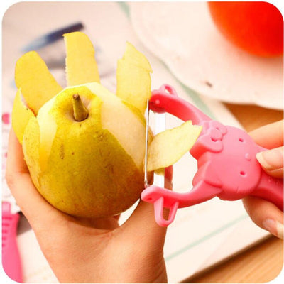Hello Kitty Pattern Fruit Knife and Peelers