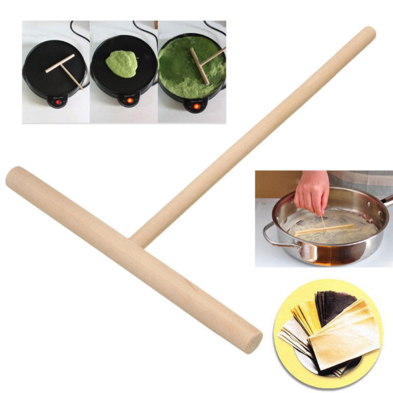 Batter Pancake Crepe Spreader Stick