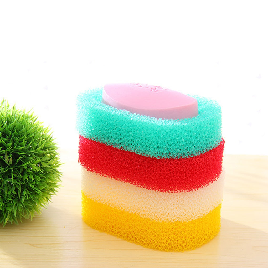 Candy colro Sponge Soap Dish Plate