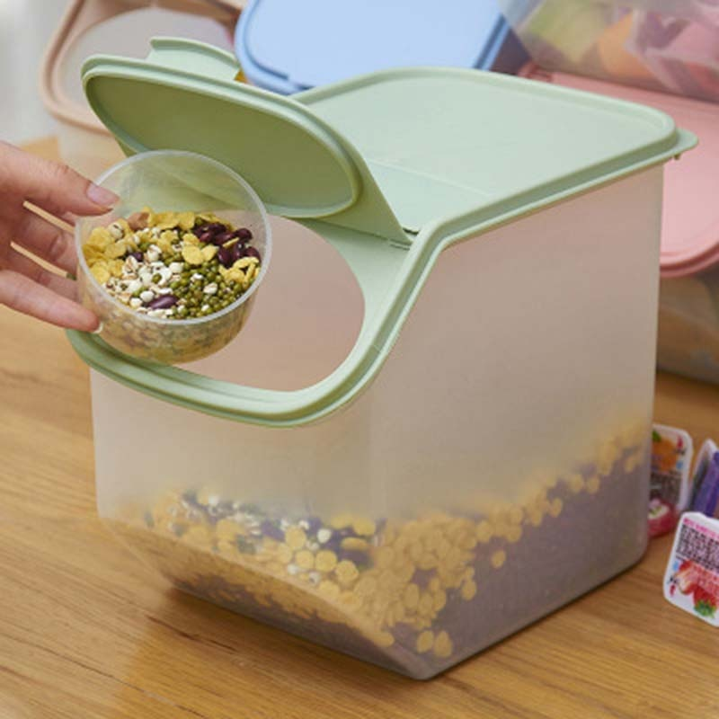 Box Bucket Cereal Dry Food Keepers