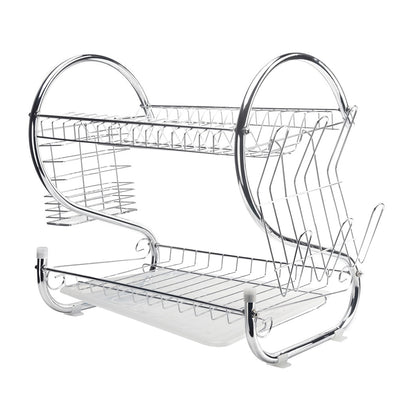 Holder Basket Plated Iron Home