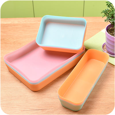Drawer Plastic Storage Box Thickened