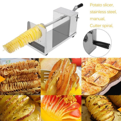 Stainless Steel Twisted Potato Slicer
