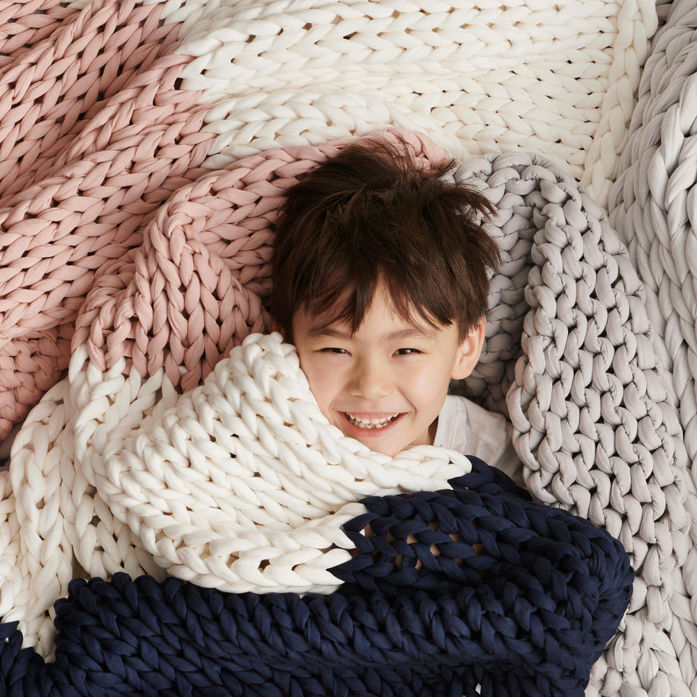 Meet the Nappling: A Weighted Blanket For Kids
