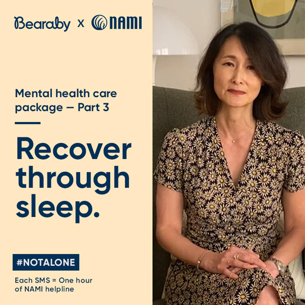 Raising Awareness About Mental Health With NAMI: Part 3, Recover Through Sleep