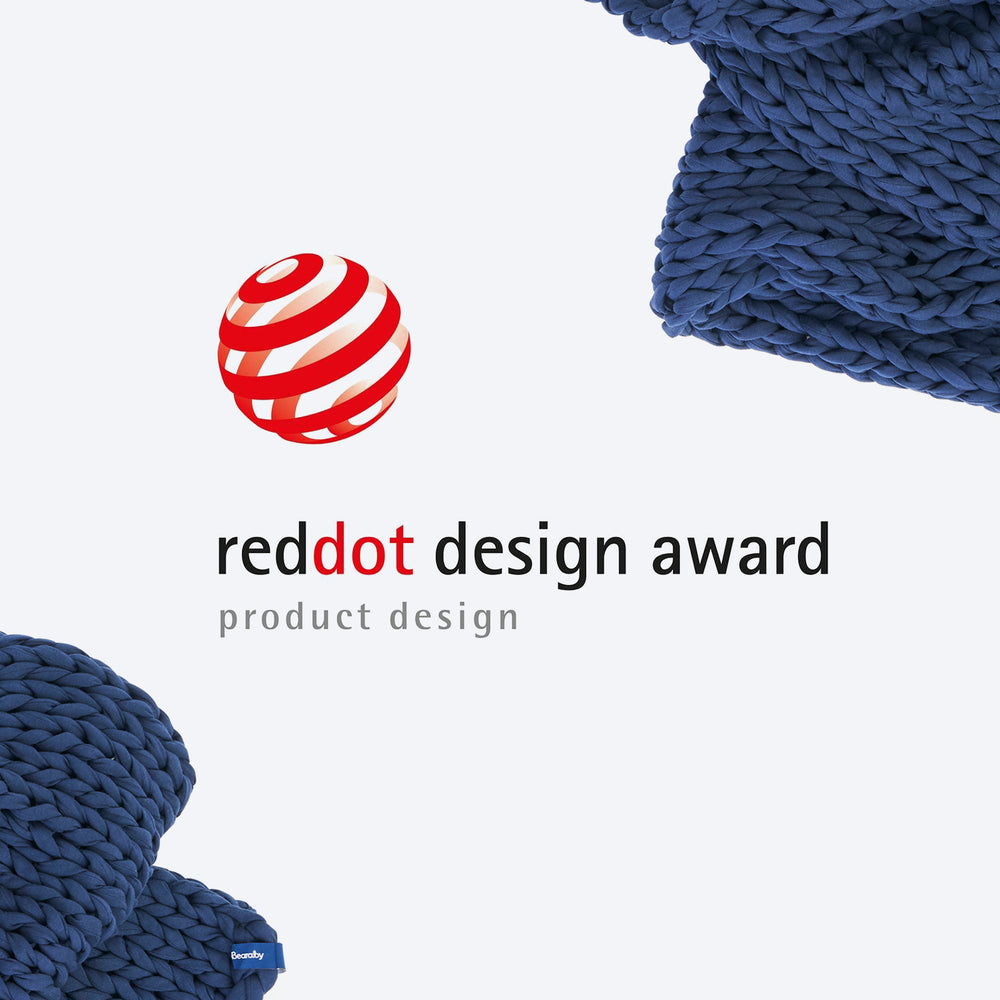 Bearaby Blog - The Bearaby weighted blanket is the Red Dot Award Winner in Product Design 2020