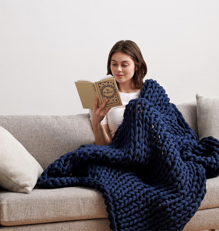 Bearaby Napper - Knitted Weighted Blanket