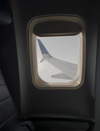 window of a plane