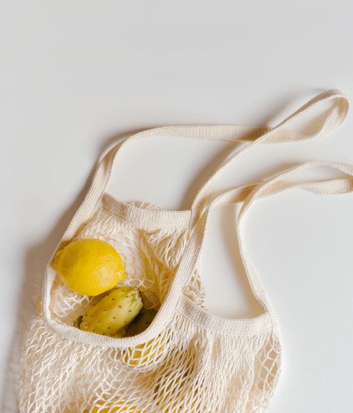 Tote bag for natural shopping