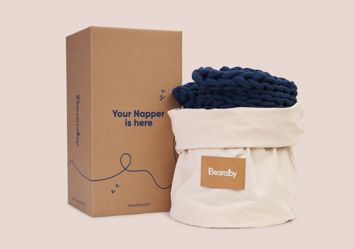 napper box bag - inexpensive weighted blanket