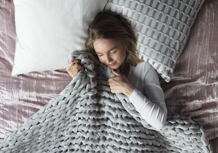 weighted blanket gift